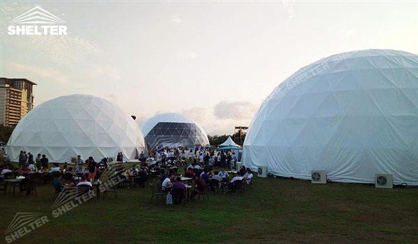 SHELTER cort dome - domuri geodezice - corturi nunti - cort organizare evenimente -13