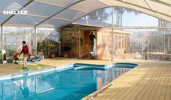 SHELTER Terenuri de Sport - Cort de Tenis- Teren Fotbal Acoperit- Corturi pentru Evenimente Sportive - piscina interioara - Bazin Inot Bucuresti -55