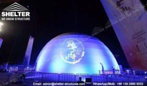 SHELTER cort dome - domuri geodezice - corturi nunti - cort organizare evenimente -251