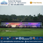 2016 Pebble Beach Concours - cort pentru expoziția Benz - structura hală personalizată de vânzare -1