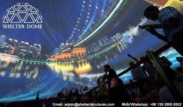 Proiecția Dome - Geodezice Dome Cort Vânzare în România -3