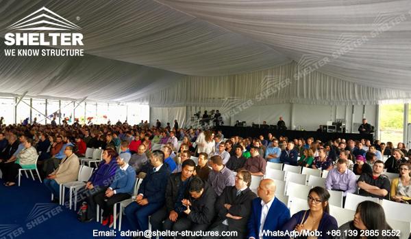 corturi de evenimente de vanzare de sticlă - 30 x 35m cort pentru ceremonia de deschidere -3