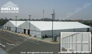 cum se alege perete lateral pentru cort industrial - perete abs