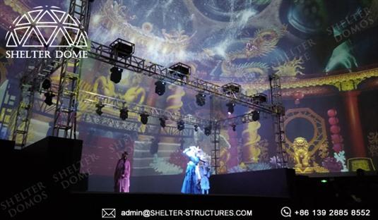 SHELTER-Dome-Construction---Tent-mare-pentru-geodome-pentru-expoziție,-recepție-și-lansări-3
