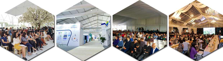 eveniment în cort - cort comercial de vânzare - corturi de promovare a mărcii 2