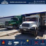 Cort industrial temporar pentru industrie Logistic
