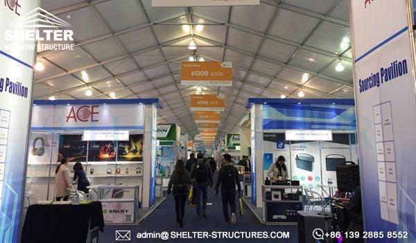 Shelter cort expozitional - corturi de evenimente -4