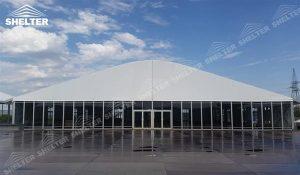 SHELTER Corturi personalizate - corturi de gradina cu acoperis curbat - nunta cort - corturi pentru evenimente -24