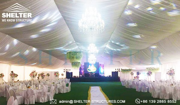 1000 persoane cort nunti de vanzare - 25 x 50m cort mare pentru nunta in aer liber -2