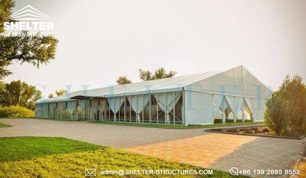 1000 persoane cort nunti de vanzare - 25 x 50m cort mare pentru nunta in aer liber -6