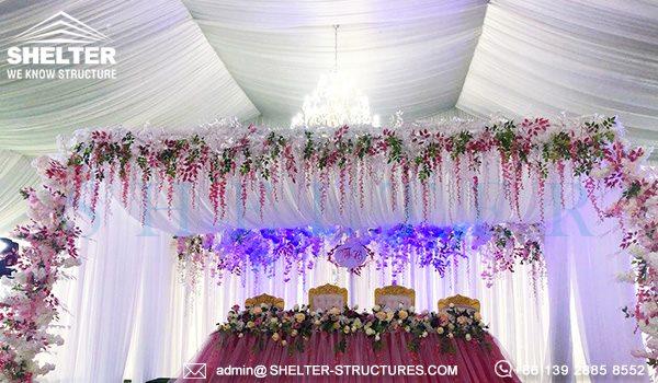 1000 persoane cort nunti de vanzare - 25 x 50m cort mare pentru nunta in aer liber -8