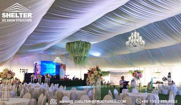 1000 persoane cort nunti de vanzare - 25 x 50m cort mare pentru nunta in aer liber -9