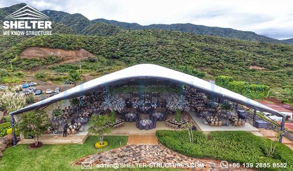 30 x 40m cort pentru nunta - locul de nunta de lux pentru banchet, recemony in romania -1