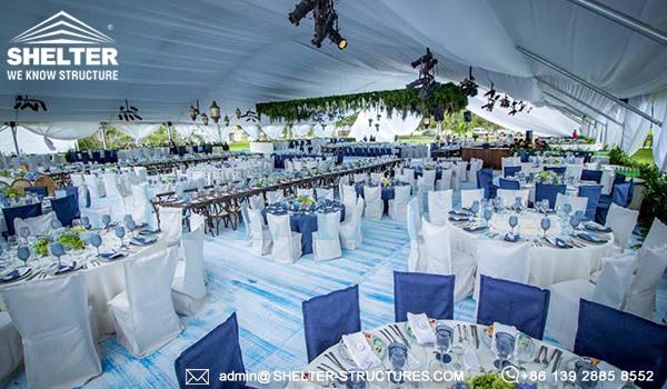 30 x 40m cort pentru nunta - locul de nunta de lux pentru banchet, recemony in romania -7