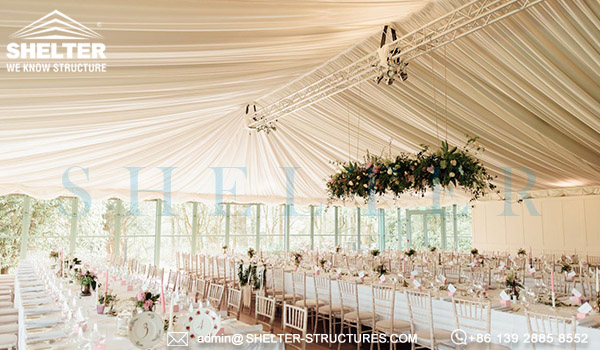 personalizate Corturi pentru nunti - pret cort de nunta in Romania - furnizor de corturi mari din China -12