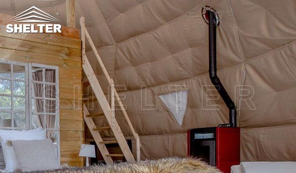 cric de sobă / orificiu pentru coș și strat de izolare